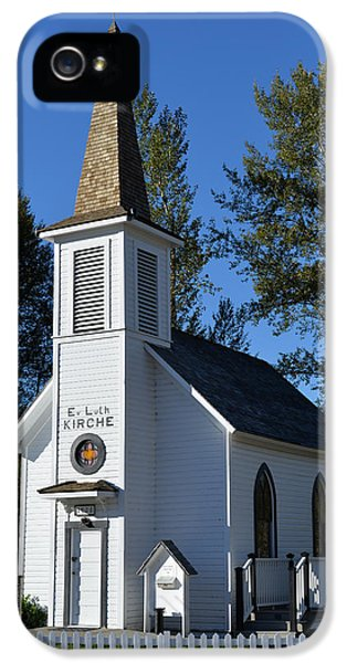 Mountain Chapel IPhone 5 Case by Anthony Baatz