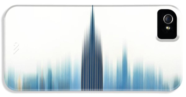 Empire State Building iPhone 5 Case - Moving An Empire by Az Jackson