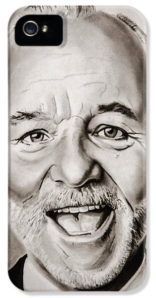 Mr Bill Murray IPhone 5 / 5s Case by Brian Broadway
