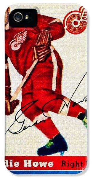 Mr. Hockey  IPhone 5 Case by Kerry Gergen