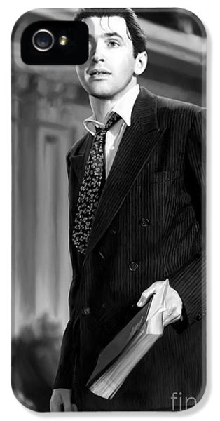 Mr. Smith Goes To Washington IPhone 5 Case by Paul Tagliamonte