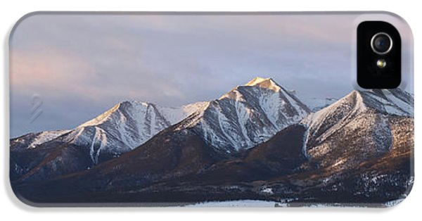 Mt. Princeton Panorama IPhone 5 Case by Aaron Spong
