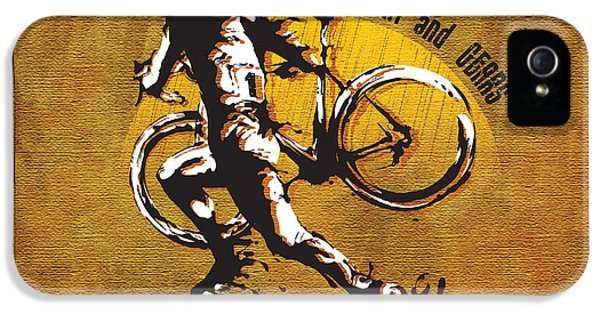 Bicycle iPhone 5 Case - Mud Sweat And Gears by Sassan Filsoof