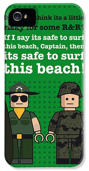 My Apocalypse Now Lego Dialogue Poster IPhone 5 Case