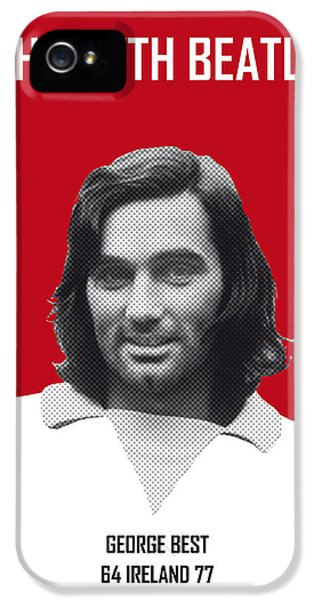 My Best Soccer Legend Poster IPhone 5 Case by Chungkong Art