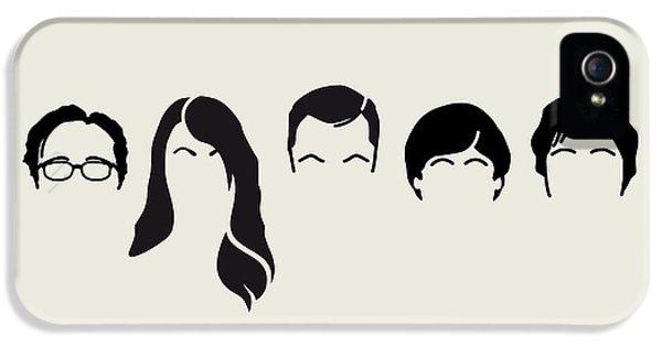 My-big-bang-hair-theory IPhone 5 Case by Chungkong Art