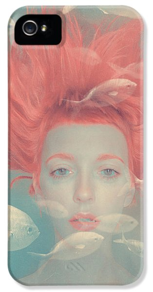 Surrealism iPhone 5 Case - My Imaginary Fishes by Anka Zhuravleva