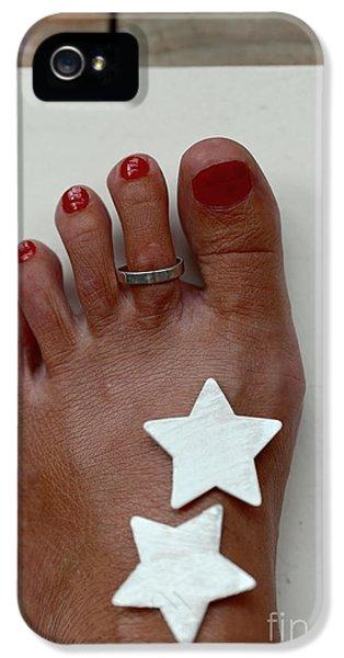 My Left Foot IPhone 5 Case by Eva Ozkoidi