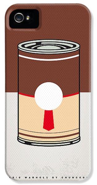 Vegetables iPhone 5 Case - My Mario Warhols Minimal Can Poster-donkey Kong by Chungkong Art