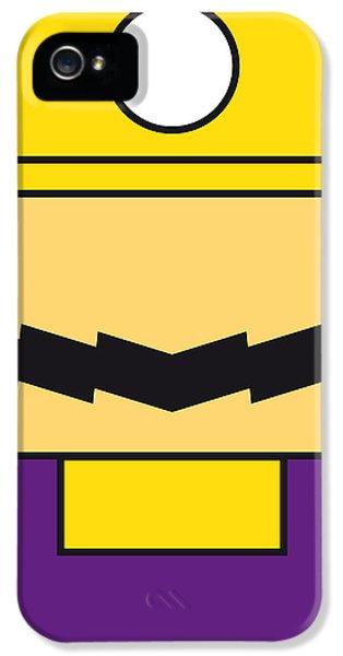 My Mariobros Fig 04 Minimal Poster IPhone 5 Case by Chungkong Art