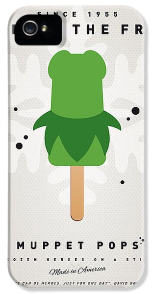 Amphibians iPhone 5 Case - My Muppet Ice Pop - Kermit by Chungkong Art