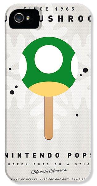 My Nintendo Ice Pop - 1 Up Mushroom IPhone 5 Case