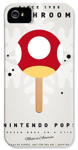 My Nintendo Ice Pop - Mushroom IPhone 5 Case