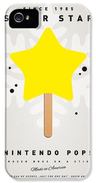 My Nintendo Ice Pop - Super Star IPhone 5 Case