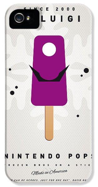 My Nintendo Ice Pop - Waluigi IPhone 5 Case