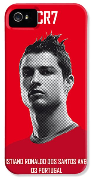 My Ronaldo Soccer Legend Poster IPhone 5 / 5s Case by Chungkong Art