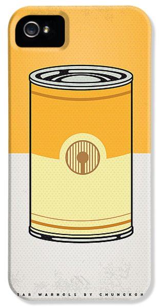 My Star Warhols 3cpo Minimal Can Poster IPhone 5 Case