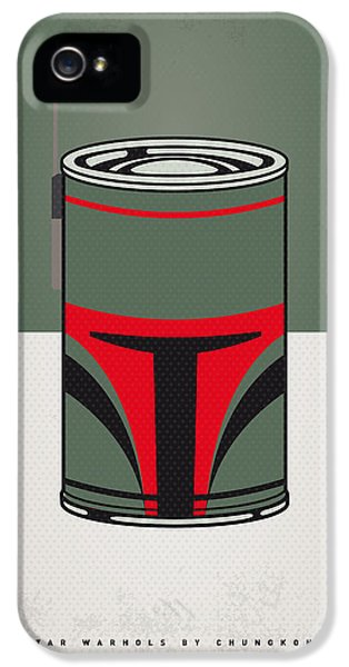 My Star Warhols Boba Fett Minimal Can Poster IPhone 5 Case