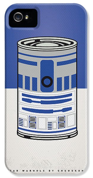 My Star Warhols R2d2 Minimal Can Poster IPhone 5 Case by Chungkong Art