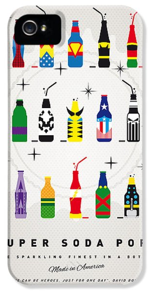 My Super Soda Pops No-00 IPhone 5 Case by Chungkong Art