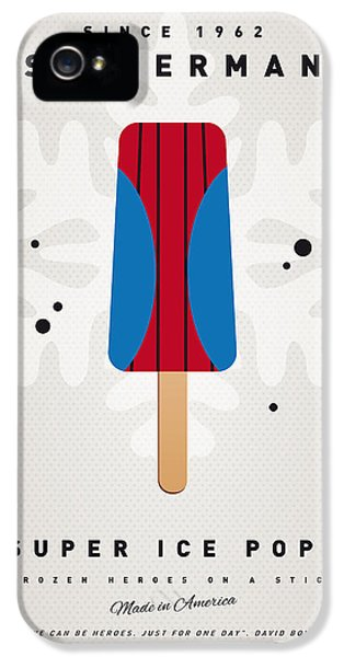 My Superhero Ice Pop - Spiderman IPhone 5 Case by Chungkong Art