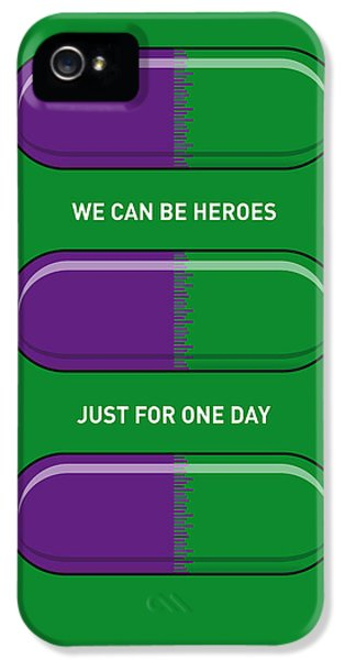 My Superhero Pills - The Hulk IPhone 5 Case by Chungkong Art
