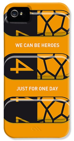 My Superhero Pills - The Thing IPhone 5 Case by Chungkong Art