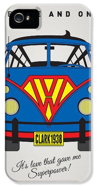 My Superhero-vw-t1-superman IPhone 5 Case