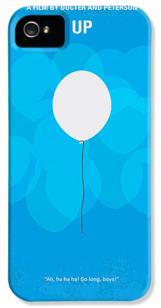 My Up Minimal Movie Poster IPhone 5 Case by Chungkong Art
