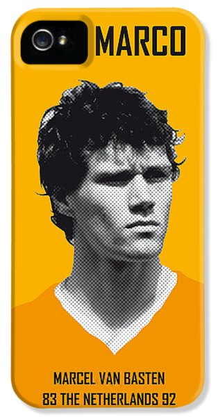 My Van Basten Soccer Legend Poster IPhone 5 Case by Chungkong Art