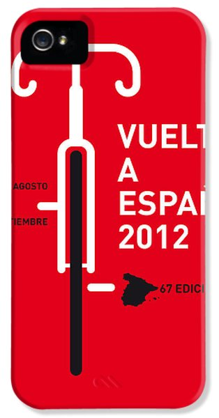 My Vuelta A Espana Minimal Poster IPhone 5 Case