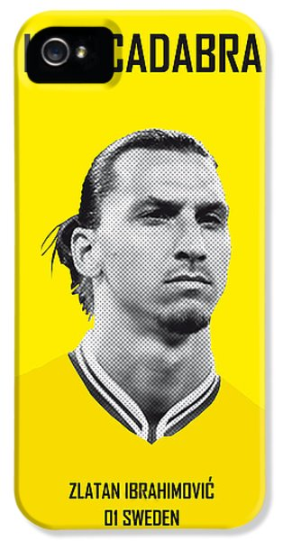 My Zlatan Soccer Legend Poster IPhone 5 Case by Chungkong Art