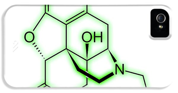 Toxicity iPhone 5 Case - Nalmefene by Alfred Pasieka