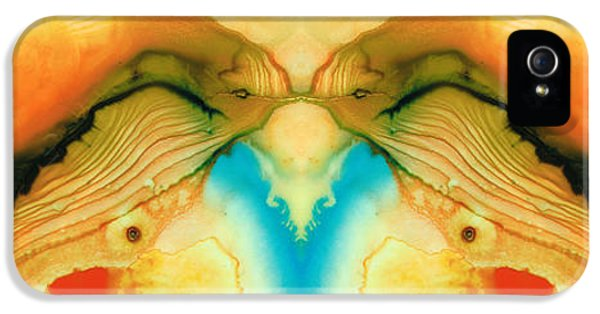 Namaste - Divine Art By Sharon Cummings IPhone 5 Case by Sharon Cummings