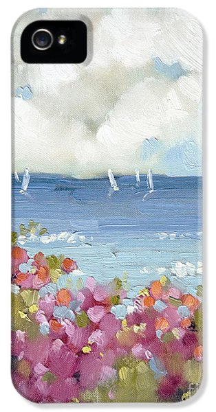 Nantucket Sea Roses IPhone 5 Case by Joyce Hicks
