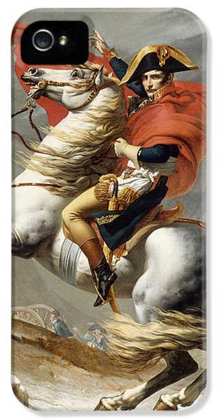 Napoleon Bonaparte On Horseback IPhone 5 Case by War Is Hell Store