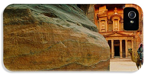 Narrow Passageway At Al Khazneh, Petra IPhone 5 Case