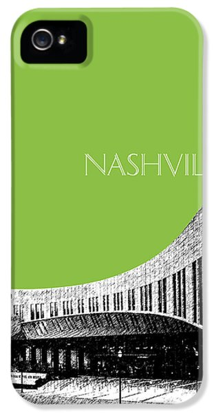 Nashville Skyline Country Music Hall Of Fame - Olive IPhone 5 Case