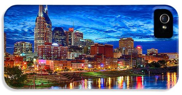 Nashville Skyline IPhone 5 / 5s Case by Dan Holland