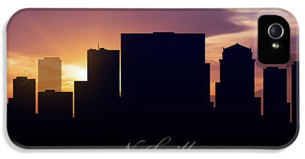Nashville Sunset IPhone 5 Case by Aged Pixel