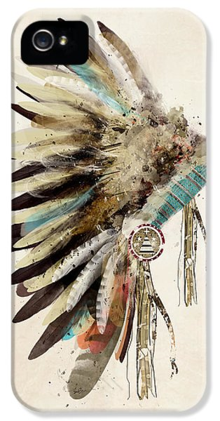 Native Headdress IPhone 5 Case