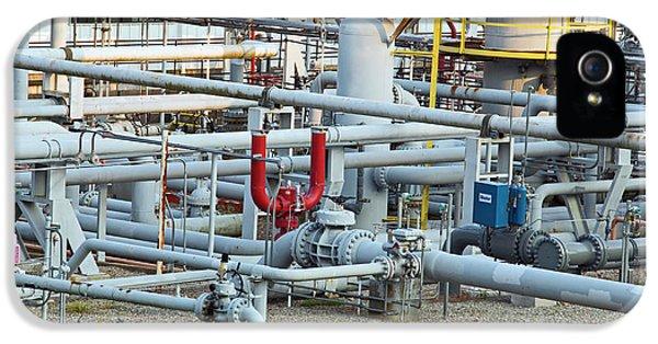 Natural Gas Compressor Station IPhone 5 Case