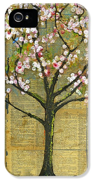 Nature Art Landscape - Lexicon Tree IPhone 5 Case by Blenda Studio
