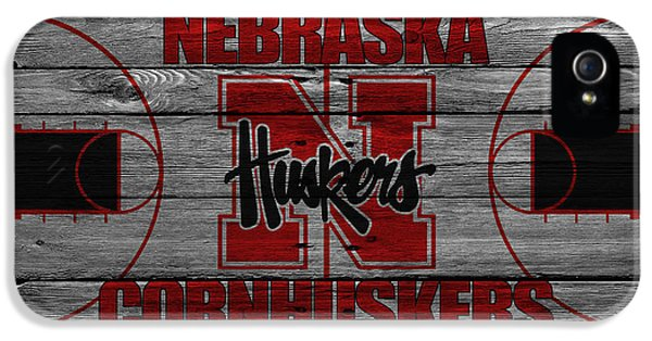 Nebraska iPhone 5 Case - Nebraska Cornhuskers by Joe Hamilton