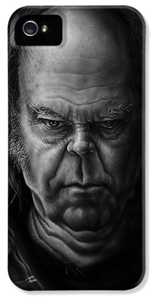 Neil Young IPhone 5 / 5s Case by Andre Koekemoer
