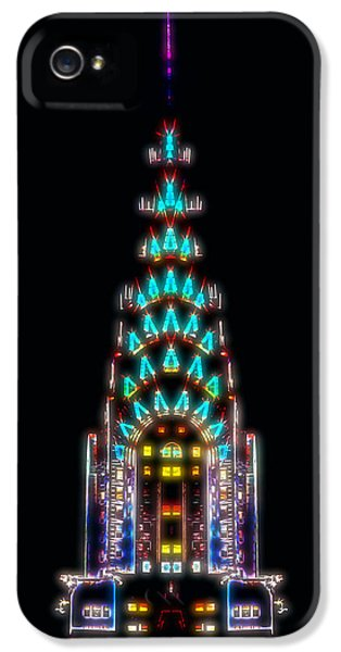 Neon Spires IPhone 5 / 5s Case by Az Jackson