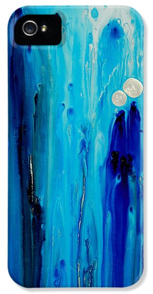 Never Alone By Sharon Cummings IPhone 5 Case