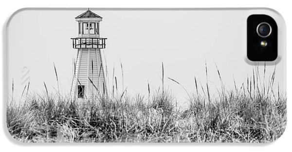 New Buffalo Lighthouse In Southwestern Michigan IPhone 5 Case by Paul Velgos