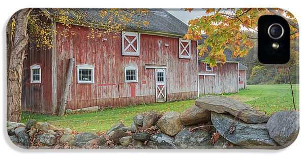 New England Barn IPhone 5 Case