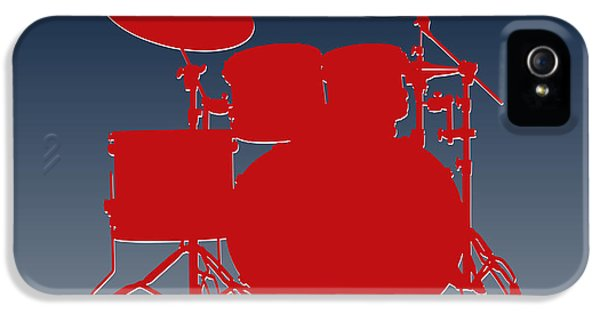 New England Patriots Drum Set IPhone 5 Case by Joe Hamilton